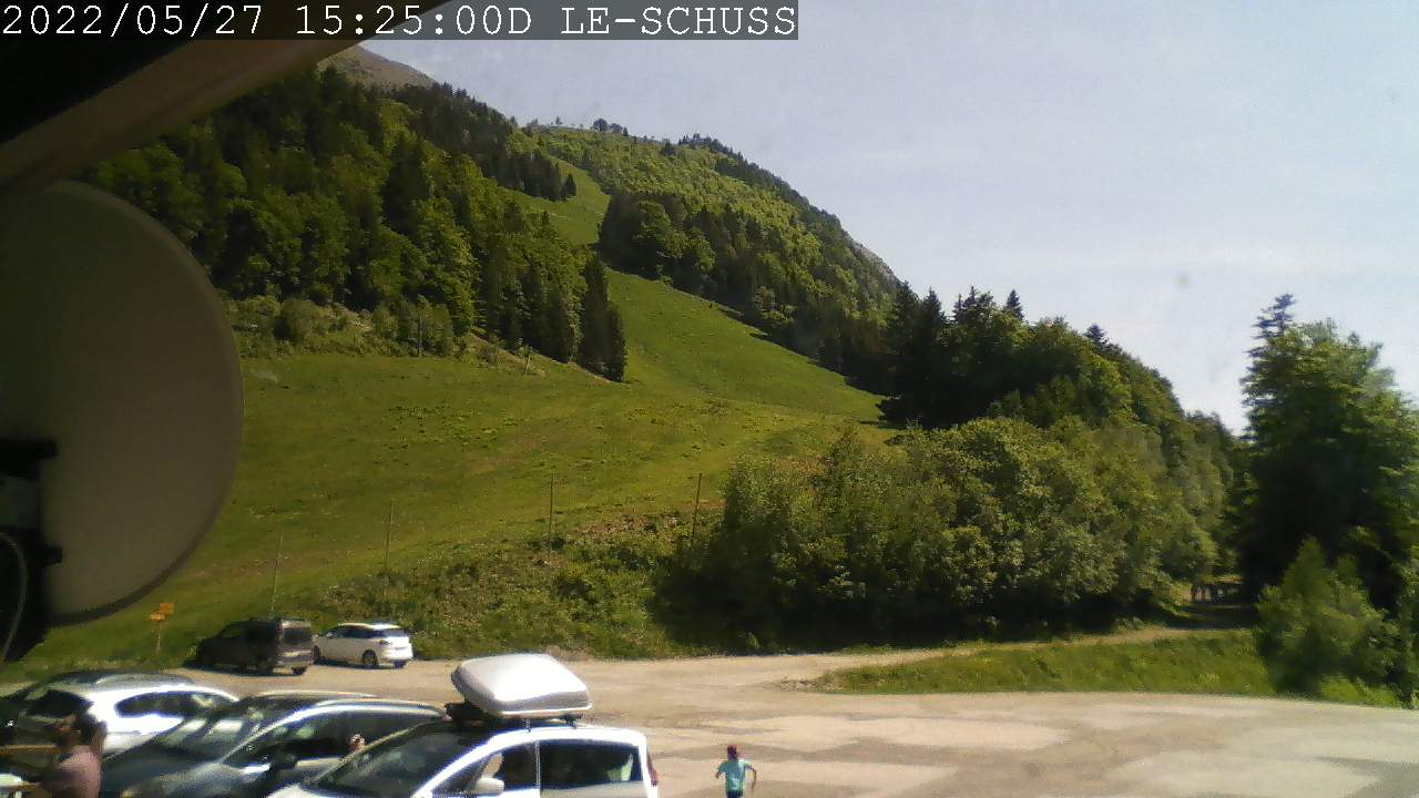 Webcam en direct du Col